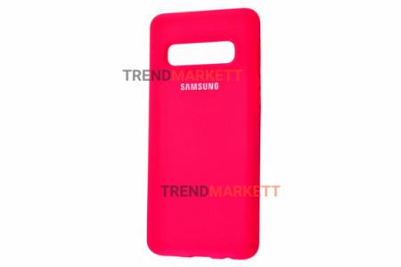 Чехол для Samsung S10e «Silicone Cover» фуксия
