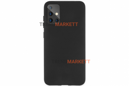 Чехол для Samsung A51 «Silicone Cover» черный