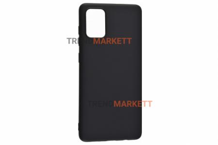 Чехол для Samsung A71 «Silicone Cover» черный