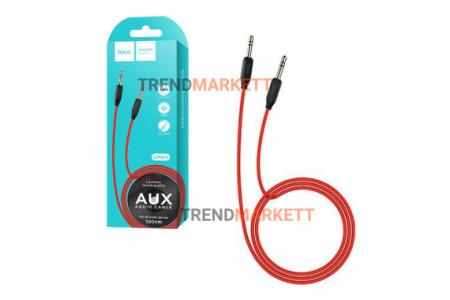 Кабель AUX UPA11 красный «Hoco»