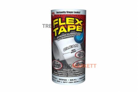 Сверхсильная клейкая лента «Flex Tape» 8х5 белая