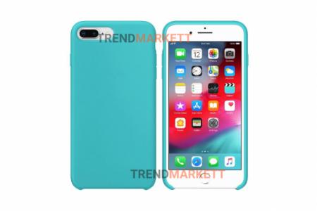 Силиконовый чехол (Silicon case) для iPhone 7 PLUS/8 PLUS Мятный