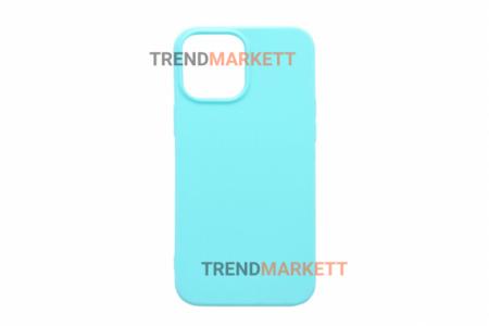 Силиконовый чехол (Silicon case) для iPhone 12/12 PRO Мятный