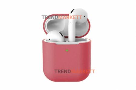 Чехол для AirPods 1/2 Smart Case Crimson