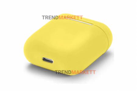 Чехол для AirPods 1/2 Smart Case Yellow