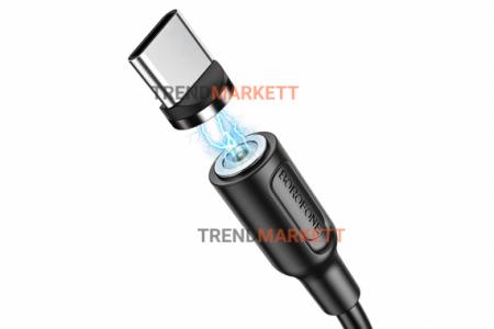 Кабель USB - Type-C «Borofone BX41» магнитный