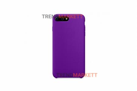 Силиконовый чехол (Silicon case) для iPhone 7 PLUS/8 PLUS Фиолетовый