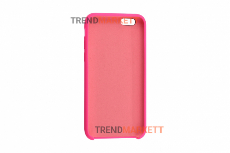 Силиконовый чехол (Silicon case) для iPhone 6/6S Фуксия