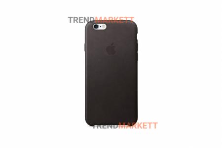 Силиконовый чехол (Silicon case) для iPhone 6/6S Черный