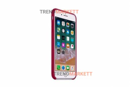 Силиконовый чехол (Silicon case) для iPhone 7/8 Малиновый