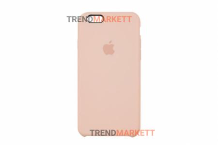 Силиконовый чехол (Silicon case) для iPhone 6/6S Пудра