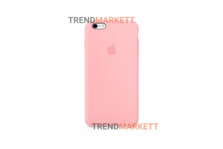 Силиконовый чехол (Silicon case) для iPhone 6/6S Розовый