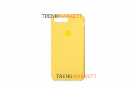 Силиконовый чехол (Silicon case) для iPhone 7 PLUS/8 PLUS Желтый