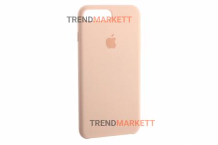 Силиконовый чехол (Silicon case) для iPhone 7 PLUS/8 PLUS Пудра