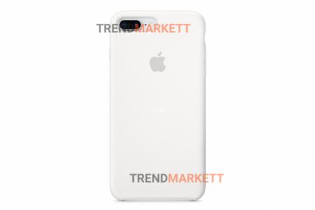 Силиконовый чехол (Silicon case) для iPhone 7 PLUS/8 PLUS Белый