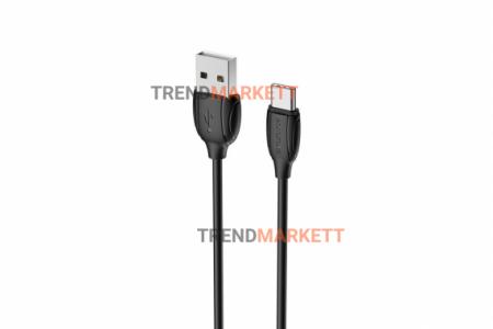 Кабель USB - Type-C «Borofone BX19 Benefit » 1 м., черный