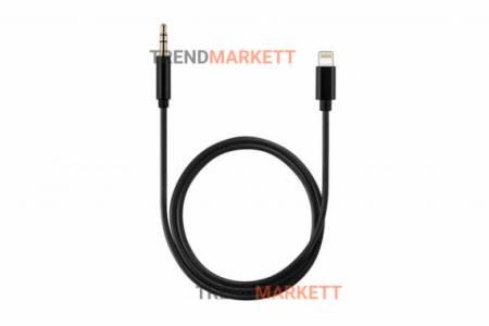 Кабель-адаптер Lightning to 3.5 AUX Audio JH-023 для Apple