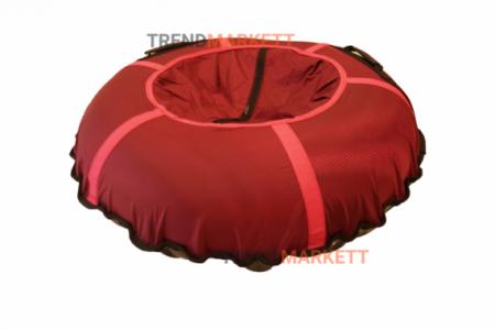 Тюбинг-ватрушка красный 100 см.