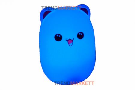Силиконовый светильник «Котик»