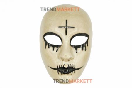Зловещая маска с крестом