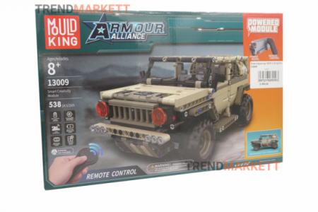 Конструктор MOULD KING 13009 «Военный Hummer»