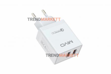 Сетевое зарядное устройство «Mivo MP-321Q»