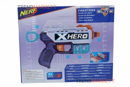 Нерф «FIRESTRIKE X HERO»