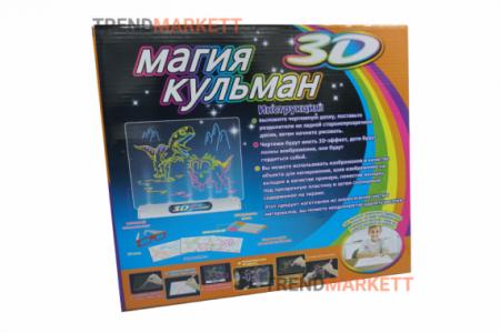 Развивающая доска «Магия Кульман 3D»