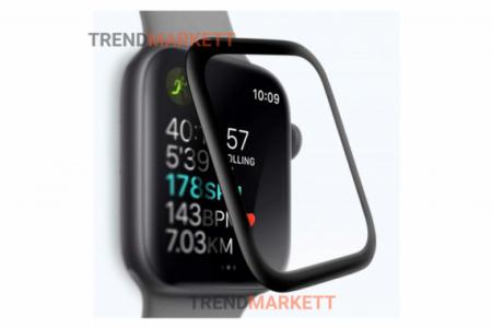 Защитное стекло Coteetci Apple Watch 40 mm (black)
