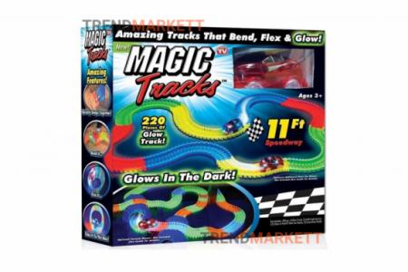Трек Magic Tracks гибкий (220 деталей)
