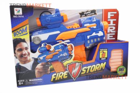Нерф «FIRE STORM» синий