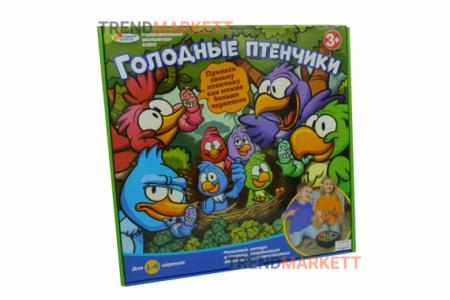 Настольная игра «Голодные птенчики»