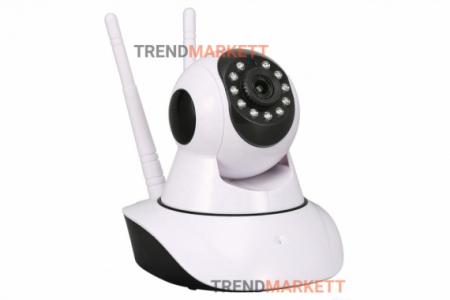 WiFi Видеокамера «V380» с 2 антеннами (360 градусов)