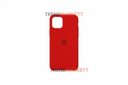 Силиконовый чехол (Silicon case) для iPhone 12/12 PRO Красный