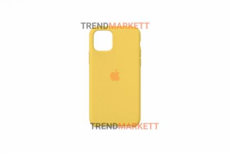Силиконовый чехол (Silicon case) для iPhone 12/12 PRO Желтый