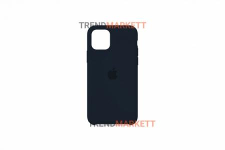 Силиконовый чехол (Silicon case) для iPhone 12/12 PRO Синий