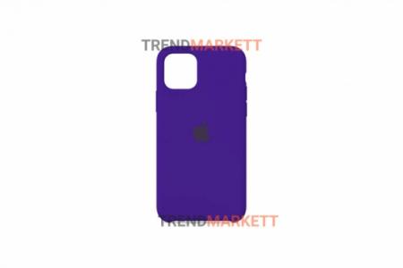 Силиконовый чехол (Silicon case) для iPhone 12/12 PRO Фиолетовый