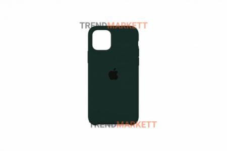 Силиконовый чехол (Silicon case) для iPhone 12/12 PRO Зеленый
