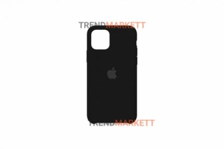 Силиконовый чехол (Silicon case) для iPhone 12/12 PRO Черный