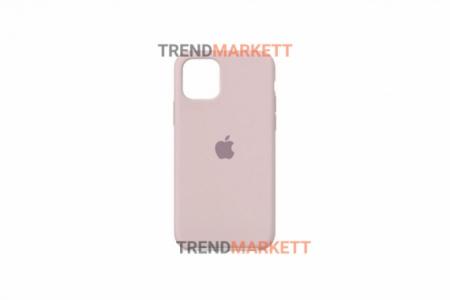 Силиконовый чехол (Silicon case) для iPhone 12/12 PRO Пудра