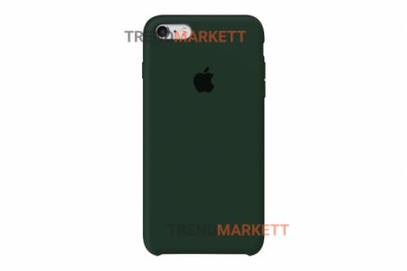 Силиконовый чехол (Silicon case) для iPhone 6/6S Хаки
