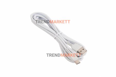 Кабель USB - Type-C «HOCO X20» 1 м., белый