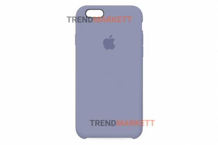 Силиконовый чехол (Silicon case) для iPhone 6/6S Лавандовый