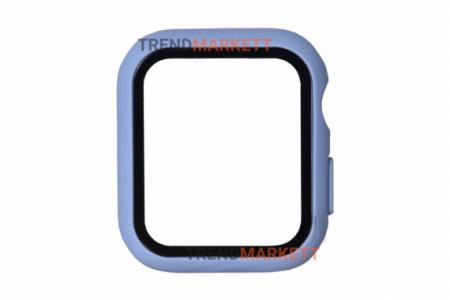 Стекло-чехол для Apple Watch 42 mm лавандовый