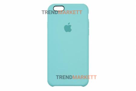 Силиконовый чехол (Silicon case) для iPhone 6/6S Мятный