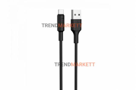 Кабель USB - Type-C «HOCO X25» 1 м., черный