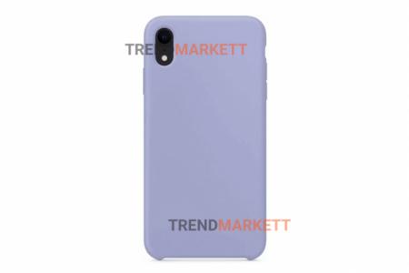 Силиконовый чехол (Silicon case) для iPhone XS MAX Лавандовый
