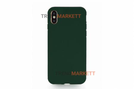 Силиконовый чехол (Silicon case) для iPhone XS MAX Зеленый