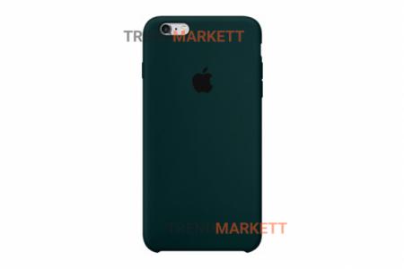 Силиконовый чехол (Silicon case) для iPhone 6/6S Зеленый