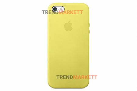 Силиконовый чехол (Silicon case) для iPhone 6/6S Желтый